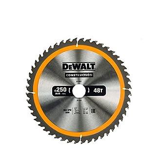 DeWalt construcción circular hojas de sierra 250mm gama