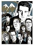 onthewall Twin Peaks Poster Kunstdruck von John Pearson (MSP 0049)
