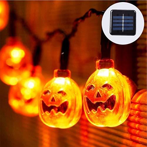 Qys 20 LED 8 Modi Solar Lichterketten im Freien wasserdichte solarbetriebene Kristallkugel dekorative Lichter für Garten, Terrasse, Hof, Haus, Chrismas Tree, Parteien, 16.4Ft