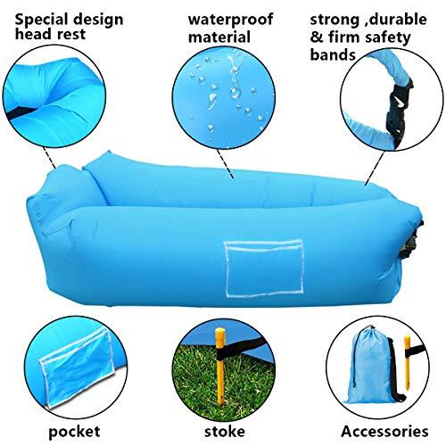 Zoom IMG-2 suptempo divano gonfiabile spiaggia portatile