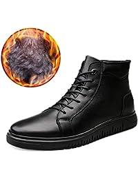 Botas de Hombre, Zapatos Casuales de otoño e Invierno Zapatos con Las Botas de Marea