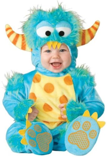 Generique - Kleines Monsterkostüm für Babys 74/80