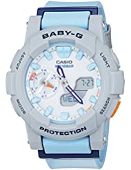 Casio Damen-Armbanduhr Baby-G Analog - Digital Quarz Resin BGA-185-2AER