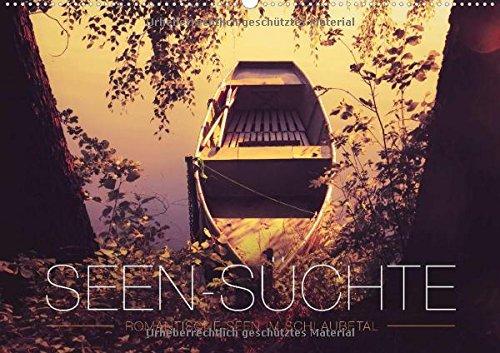 Seen-Süchte - Romantische Seenlandschaft Schlaubetal (Wandkalender 2015 DIN A2 quer): Stimmungsvolle, romantische Seenlandschaften, 14 Seiten (Monatskalender, 14 Seiten) (CALVENDO Natur) - Boot 2015-kalender