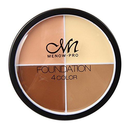 Culater® 4 couleurs Poudre pour le Visage Crème Contour Pro Maquillage Correcteur Palette Camouflage (C)
