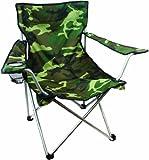 Highlander Folding Camp Chair ― Lightweight & Durable Outdoor Seat ― Perfect for Camping, Festivals, Garden, Caravan Trips, Fishing, Beach, BBQs