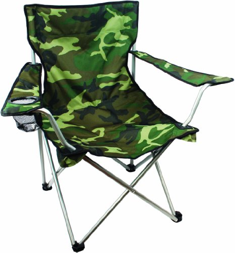 51A fNXiWOL - Lightweight Durable Compact Folding Camp Chair - Portable Chair with Cup Holder Perfect for Camping, Festivals, Garden…