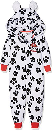 nteiliger Schlafanzug Marshall Dress Up, Weiß, 5-6 Jahre (Fleece Pjs Für Kinder)