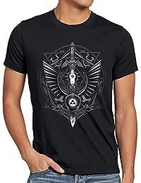 style3 Hyrule Wappen Herren T-Shirt link gamer