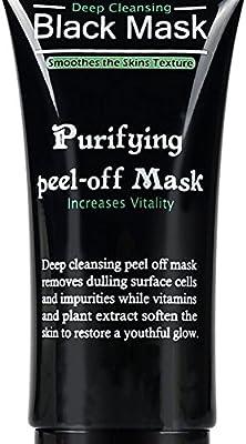 Facial mascarilla Blackhead Remover removedor de la espinilla limpia limpiador purificante pelar barro negro máscara del acné