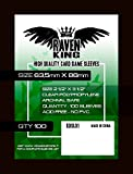 Raven- Bustine protettive per Carte da Gioco Misura 63,5x88 mm, RDSL01