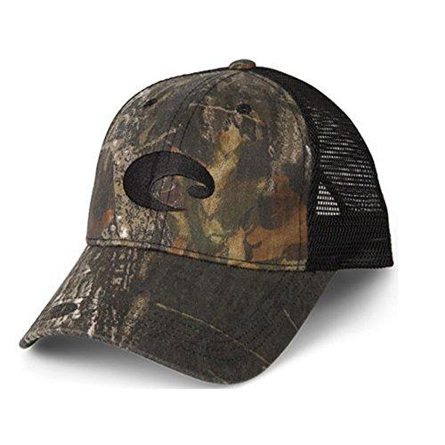 Costa Del Mar Mesh Hat, Herren damen, Mossy Oak New Breakup Camo/Black, Einheitsgröße