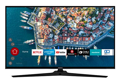 Hitachi F40E4000 102cm 40' Smart TV PVR Noir