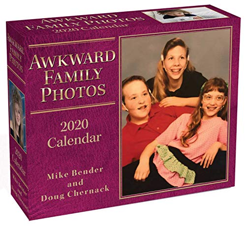 Awkward Family Photos 2020 Day-To-Day Calendar