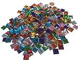 Lot de 40011mm Pierre de mosaïque multicolores scintillantes multicolores...