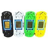 Vivianu - Consola de juegos clásica para niños, pantalla LCD de mano, máquina electrónica para juegos Tetris Brick