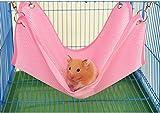 Transpirable Cool Malla Hamaca Cama Nido Casa para Pet Hamster rata Gerbil chinchillas cobayas Ardilla Pequeñas Jaulas de animales