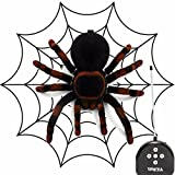 MECO Remote Control Spider Toy RC Spider Kids Toy Scary Toy Cool Gadget Funny Gift for Boys Girls Teenagers Adults Toys