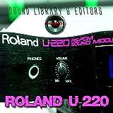 Para Roland U-220enorme cartucho Original de fábrica nueva biblioteca de sonido creado y editores en CD