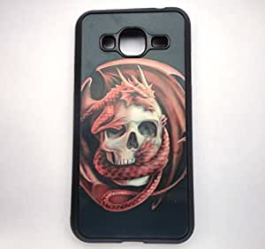 Horror Series 3D Printed Back Cover For Samsung Galaxy J3 by ROKAYA