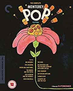 The Complete Monterey Pop Festival - The Criterion Collection [Blu-ray] [Region B]