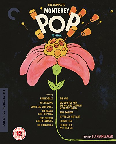 The Complete Monterey Pop Festival - The Criterion Collection [Blu-ray] [Region Free]