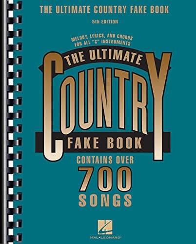 The Ultimate Country Fake Book (Fake Books)