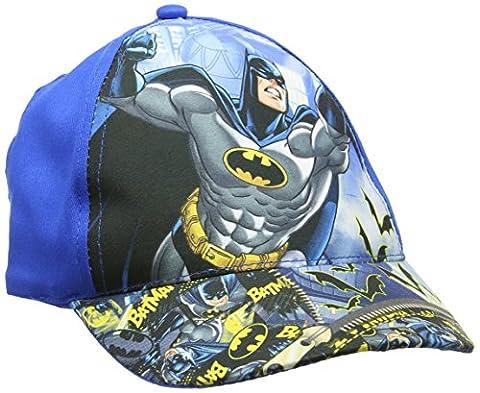 DC Comics Boy's Batman Cap, Blue, One Size (Manufacturer Size:54)