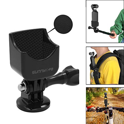 bescita Fahrrad Halterung 180 ° Camcorder Mount Adapter Platte Halterung Befestigungsbügel für DJI Osmo Pocket Mobile Gimbal Stabilisator Zubehör