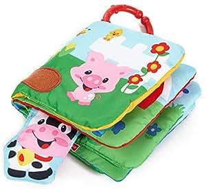 Mattel Fisher-Price M4060-0 - Mein Bauernhof Spielbuch