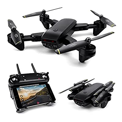 LBLA Foldable Drone WIFI FPV Quadcopter With 2MP 720P Wide Angle Camera Altitude Hold 3D Flips TIF RC Helicopter from LBLA