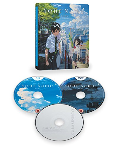 Your Name Collectors Edition Steelbook (Blu-ray + DVD+CD)