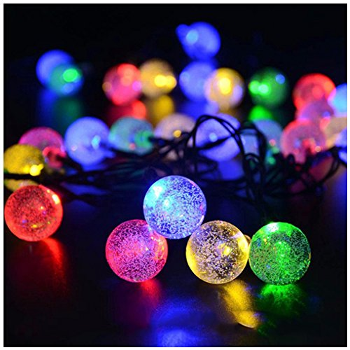 Rcool Solar 30 LED String Light Garden Yard Rope Light Party Festival Lamp Décor