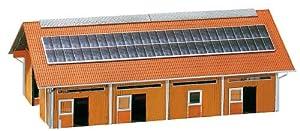 Faller - Edificio industrial de modelismo ferroviario H0 escala 1:87 (130520)