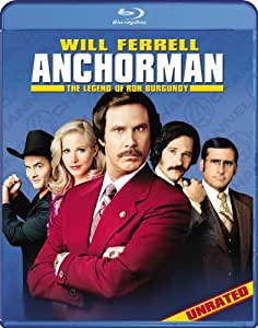 Anchorman: The Legend of Ron Burgundy [Blu-ray] [Import anglais]
