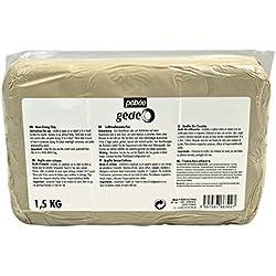 Pébéo 766302 Modelado Arcilla sin cocción Bianca, pan de 1,5 kg