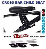 Oxford Little Explorer Cross Bar Fit Child Bike Seat & Glueless Patch Kit Package