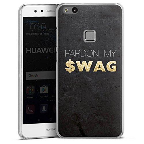 huawei-p-10-lite-hulle-schutz-hard-case-cover-pardon-swag-glitter