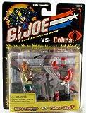 'G.I. Joe Sure Fire VS. Cobra Slice 'GI Joe VS. Cobra 2figuras de acción en el juego de Hasbro 2002