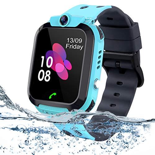 bhdlovely Niños Smartwatch - Reloj de Pulsera Inteligente con Ubicación LBS Reloj...