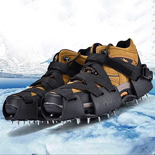 f027637d20c48 Kneeslegs Stabilicers Caminan tríboles de tracción de Hielo para la Nieve y  el Hielo, Correas Ajustables, adecuadas para los crampones Promedio de ...