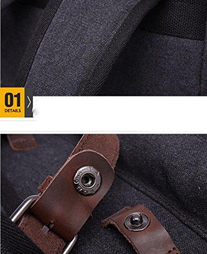 Einfache Und Dauerhafte Leinwand Umhängetasche Rucksack PhotoColor