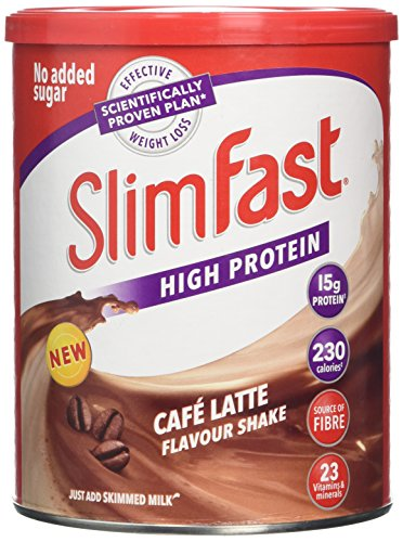 SlimFast Meal Replacement Powder Shake, Cafe Latte - 438 g