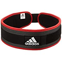 Adidas Adgb-12245 Weight Lifting Belt, Multi Color