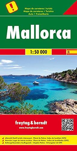 Preisvergleich Produktbild Mallorca, Autokarte 1:50.000, Besondere Ausflugsziele, freytag & berndt Auto + Freizeitkarten