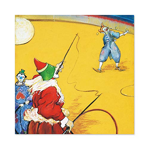 Anquetin Circus Clowns Painting Large Wall Art Poster Print Thick Paper 24X24 Inch Zirkus Malerei Wand Poster drucken -
