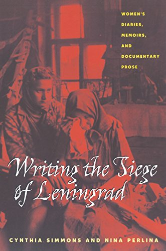 writing-the-siege-of-leningrad-womens-diaries-memoirs-and-documentary-prose