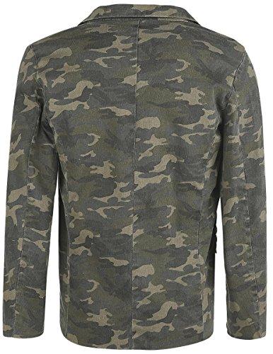 Doomsday Military Veste camouflage camouflage
