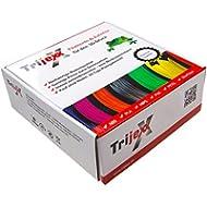Trijexx Filament PETG 1 kg Nettogewicht, Premium Filament für alle gängigen 3D-Drucker verschiedene Farben!