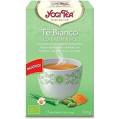 Yogi Tea Thé Blanc avec Aloe Vera perfusé 17sachets